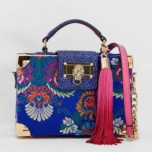 Aldo NWT tapestry purse with tassel and strap